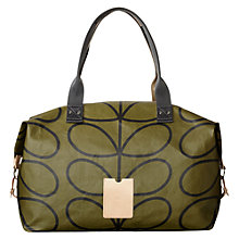 Buy Orla Kiely Etc Linear Stem Printed Holdall Online at johnlewis.com
