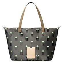 Buy Orla Kiely Shopper Bag, Slate Online at johnlewis.com