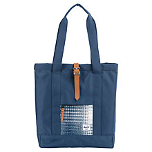 Buy Herschel Market Tote Bag, Navy Online at johnlewis.com
