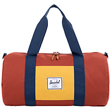 Buy Herschel Sutton Mid Duffle Holdall, Rust/Copper Online at johnlewis.com