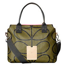 Buy Orla Kiely Messenger Bag, Kelp Online at johnlewis.com