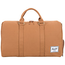 Buy Herschel Novel Canvas Holdall, Caramel Online at johnlewis.com