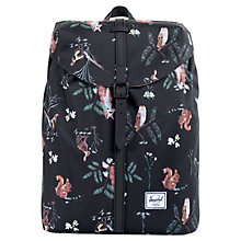 Buy Herschel Post Country Print Backpack, Multi Online at johnlewis.com