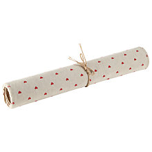 Buy Groves Heart Print Fabric Roll Online at johnlewis.com
