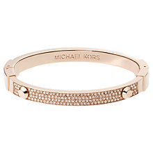 Buy Michael Kors Astor Pave Stud Bangle Online at johnlewis.com