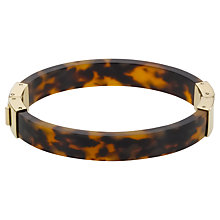 Buy Michael Kors Hinge Bangle, Tortoiseshell Online at johnlewis.com