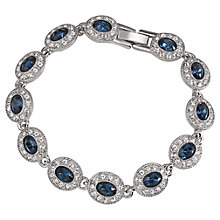 Buy Carolee Oval Crystal and Stone Bracelet Online at johnlewis.com