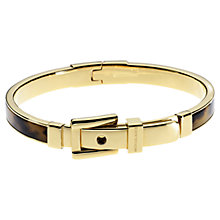 Buy Michael Kors Astor Buckle Bangle, Tortoiseshell Online at johnlewis.com