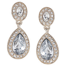Buy Carolee The Catherine Crystal Drop Pierced Earrings, Crystal Online at johnlewis.com