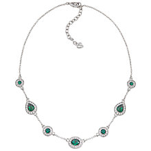 Buy Carolee Oval Crystal and Stone Necklace Online at johnlewis.com