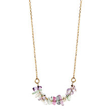 Buy Orelia Ditsy Amethyst Necklace Online at johnlewis.com