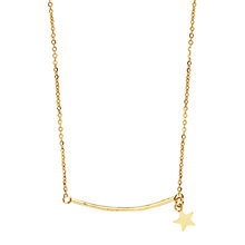 Buy Orelia Star & Bar Necklace Online at johnlewis.com