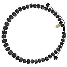 Buy Lola Rose Bryson Agate Necklace, Black Online at johnlewis.com