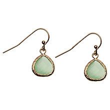 Buy Orelia Pretty Stone Drop Earrings Online at johnlewis.com