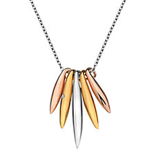 Buy Hot Diamonds Icicle Pendant, Silver Online at johnlewis.com