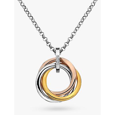 Hot Diamonds Trio Ring Pendant