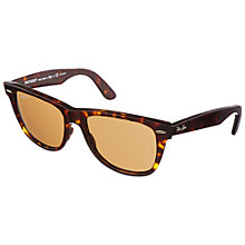 Buy Ray-Ban RB2140 Iconic Wayfarer Oval Sunglasses Online at johnlewis.com