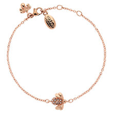 Buy Cachet London Bee Rose Gold Plated Swarovski Crystal Bracelet Online at johnlewis.com