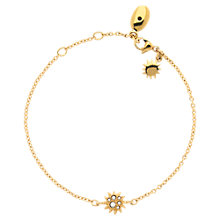 Buy Cachet Soleil Yellow Gold Plated Swarovski Crystal Bracelet Online at johnlewis.com