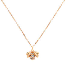 Buy Cachet London Bee Rose Gold Plated Swarovski Crystal Pendant Online at johnlewis.com