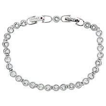Buy Cachet London Swarovski Crystal Tennis Bracelet Online at johnlewis.com