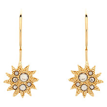 Buy Cachet London Soleil Gold Plated Swarovski Crystal Drop Earring Online at johnlewis.com