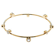 Buy Cachet Solitaire Swarovski Crystals Bangle Online at johnlewis.com