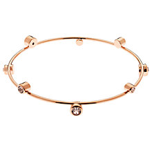 Buy Cachet London Solitaire Swarovski Crystals Bangle Online at johnlewis.com