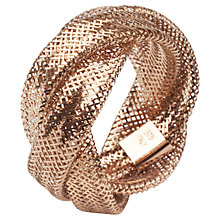 Buy A B Davis 9ct Multi Flexi Twist Mesh Ring Online at johnlewis.com