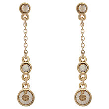 Buy Cachet London Swarovski Crystal Pave Drop Earrings Online at johnlewis.com
