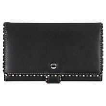 Buy Tula Mallory Leather Matinee Purse, Black Online at johnlewis.com