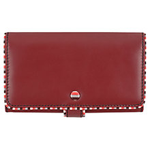 Buy Tula Mallory Large Leather Matinee Purse, Burgundy Online at johnlewis.com