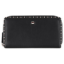 Buy Tula Mallory Matinee Leather Purse, Black Online at johnlewis.com