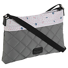 Buy Radley Ditsy Lining Quilt Cross Body Bag, Grey Online at johnlewis.com