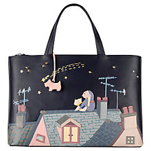 Buy Radley Make A Wish Leather Picture Bag, Multi Online at johnlewis.com
