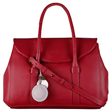 Buy Radley Waterloo Medium Multiway Leather Grab Bag, Red Online at johnlewis.com