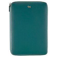 Buy Radley Blair Leather Mini Ipad Cover, Blue Online at johnlewis.com