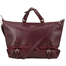 Buy Somerset by Alice Temperley Qualigate Extra Large Grab Bag, Claret Online at johnlewis.com