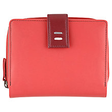 Buy Tula Violet Leather Wallet, Red Online at johnlewis.com