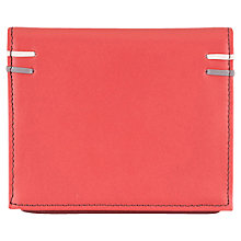 Buy Tula Violet Leather Card Holder, Red Online at johnlewis.com