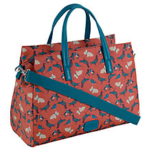 Buy Radley Dog And Bird Medium Grab Bag, Orange Online at johnlewis.com