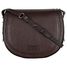 Buy Radley Kings Road Medium Leather Across Body Bag, Brown Online at johnlewis.com