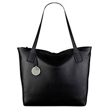 Buy Radley Battersea Large Leather Shoulder, Black Online at johnlewis.com