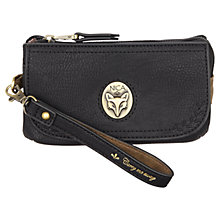 Buy Nica Kenzie Wristlet Bag, Black Online at johnlewis.com