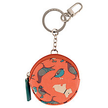 Buy Radley A Little Bird Told Me Purse, Orange Online at johnlewis.com