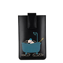 Buy Radley Bubble Trouble Iphone Case, Black Online at johnlewis.com