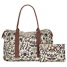 Buy Nica Grace Weekender Bag, Stone Online at johnlewis.com