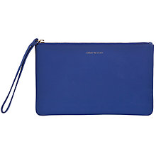 Buy COLLECTION by John Lewis Hayley 'Good As Gold' Slogan Pouch, Blue Online at johnlewis.com