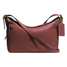 Buy Coach Bleecker Leather East/West Sullivan Across Body Bag Online at johnlewis.com