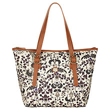 Buy Nica Viola Ornate Decorate Print Tote Bag, Multi Online at johnlewis.com